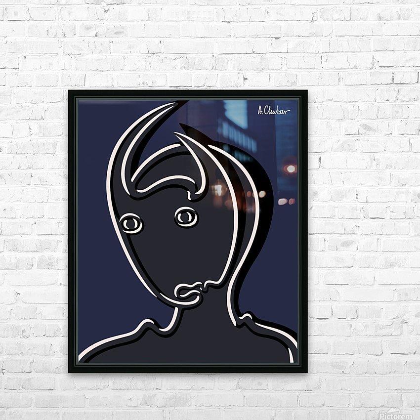 Pasiphaë HD Sublimation Metal print with Decorating Float Frame (BOX)