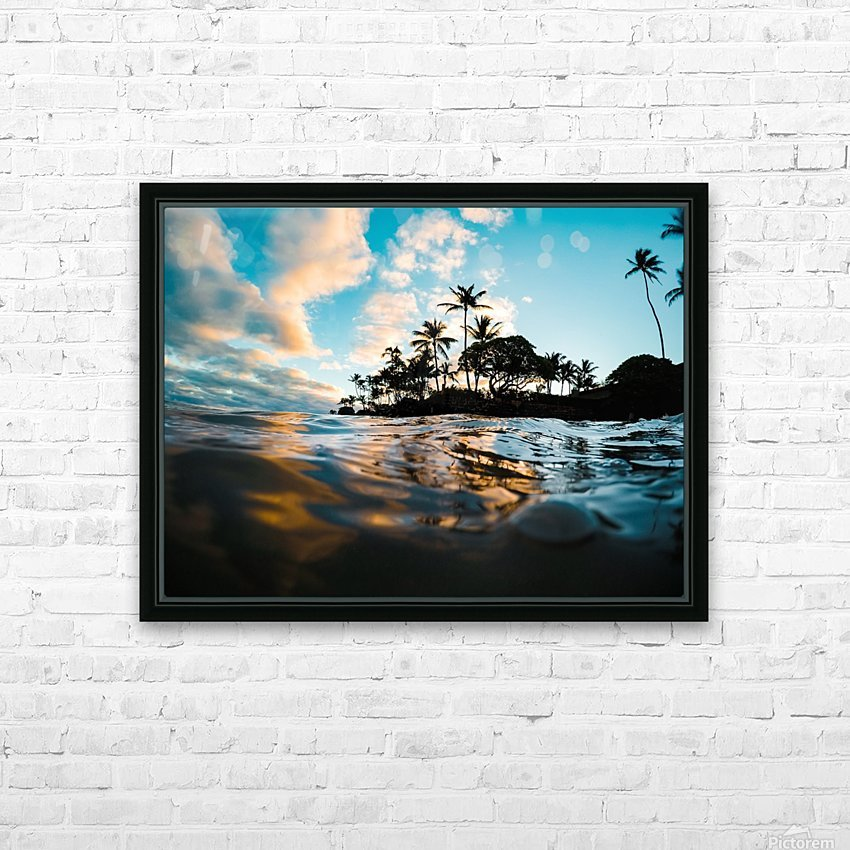 Lost at Sea HD Sublimation Metal print with Decorating Float Frame (BOX)