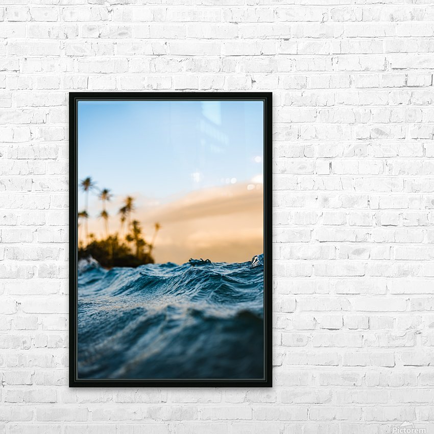 At Sea HD Sublimation Metal print with Decorating Float Frame (BOX)