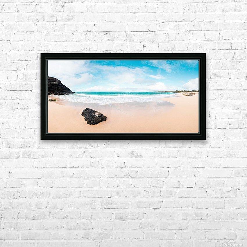 Kauai Paradise HD Sublimation Metal print with Decorating Float Frame (BOX)