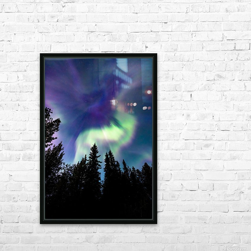 Up in the Sky HD Sublimation Metal print with Decorating Float Frame (BOX)