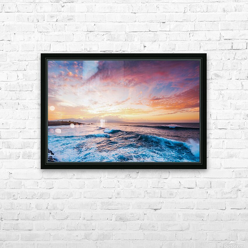 Easy Evening HD Sublimation Metal print with Decorating Float Frame (BOX)