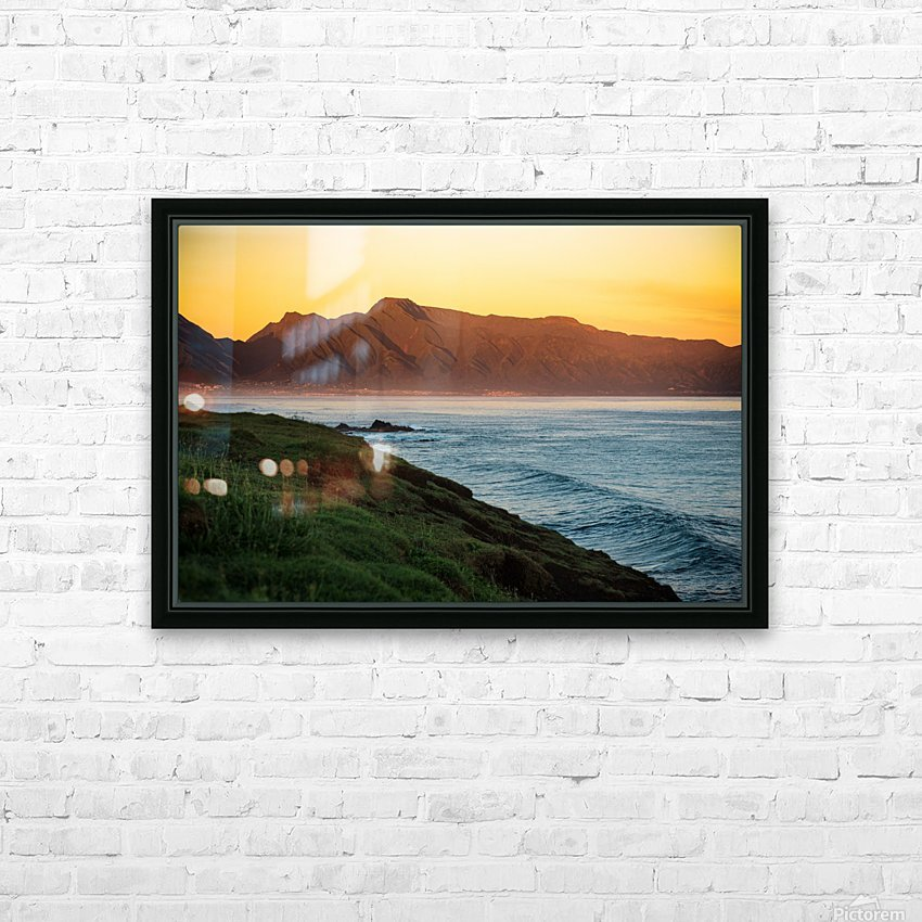Beauty of Maui HD Sublimation Metal print with Decorating Float Frame (BOX)