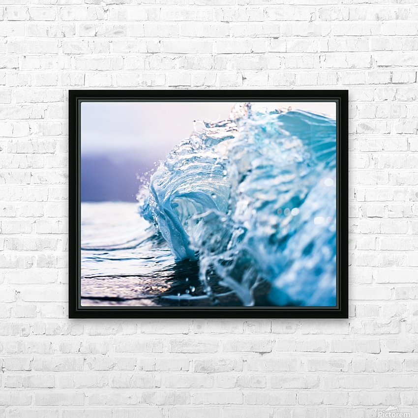 Beauty in Chaos HD Sublimation Metal print with Decorating Float Frame (BOX)