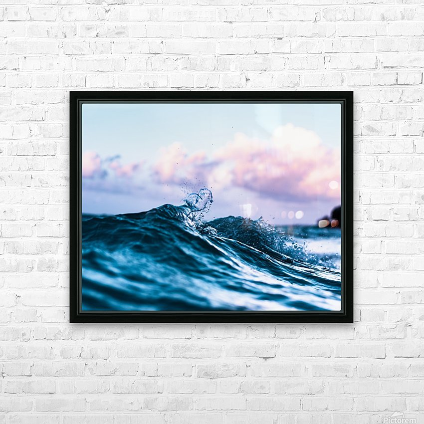 Loved HD Sublimation Metal print with Decorating Float Frame (BOX)