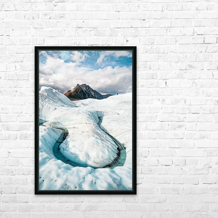 Cold Journey HD Sublimation Metal print with Decorating Float Frame (BOX)