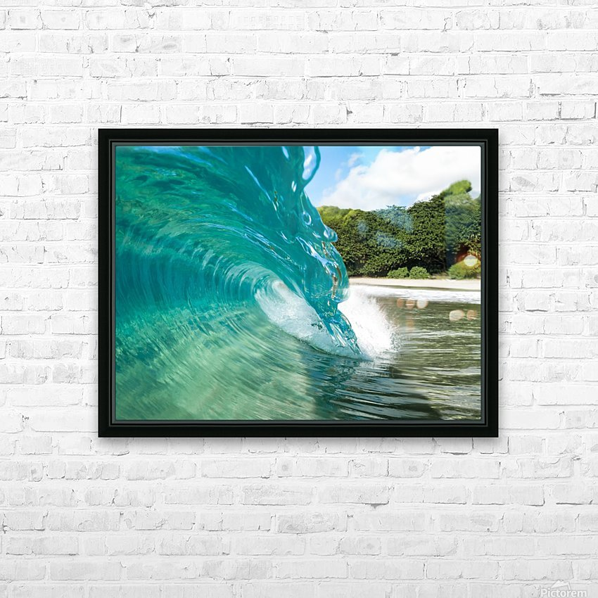 Cyrstal HD Sublimation Metal print with Decorating Float Frame (BOX)