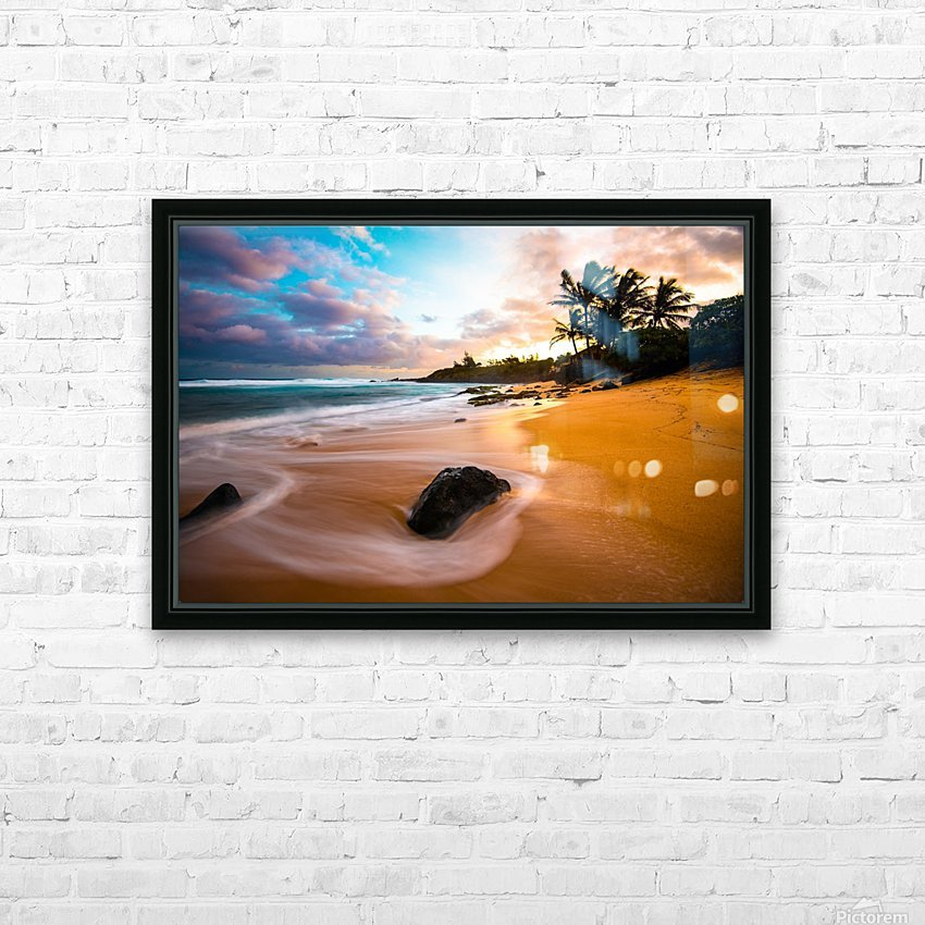 Morning Magic HD Sublimation Metal print with Decorating Float Frame (BOX)