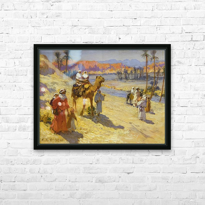 A walk through the dessert HD Sublimation Metal print with Decorating Float Frame (BOX)