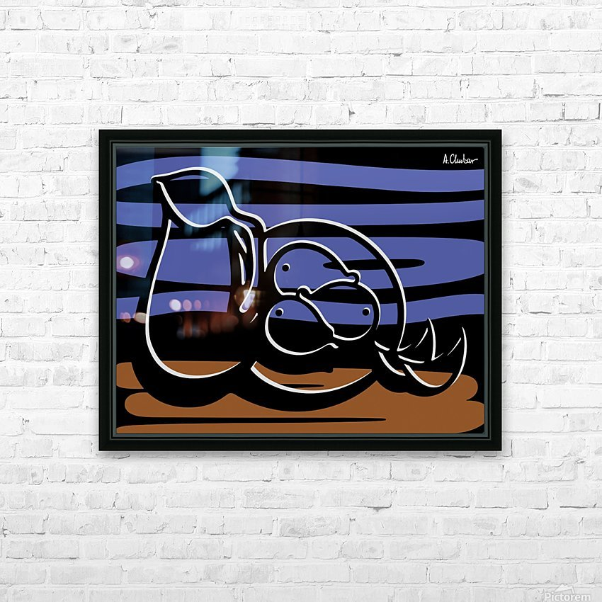 Still Life with a Pitcher HD Sublimation Metal print with Decorating Float Frame (BOX)