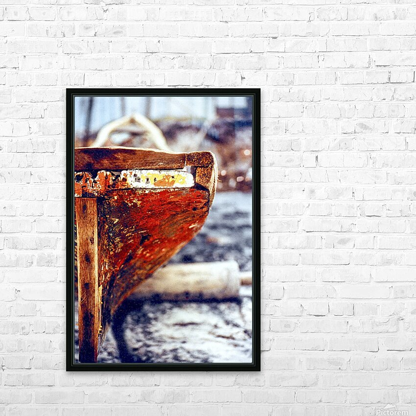 Boat - IV HD Sublimation Metal print with Decorating Float Frame (BOX)