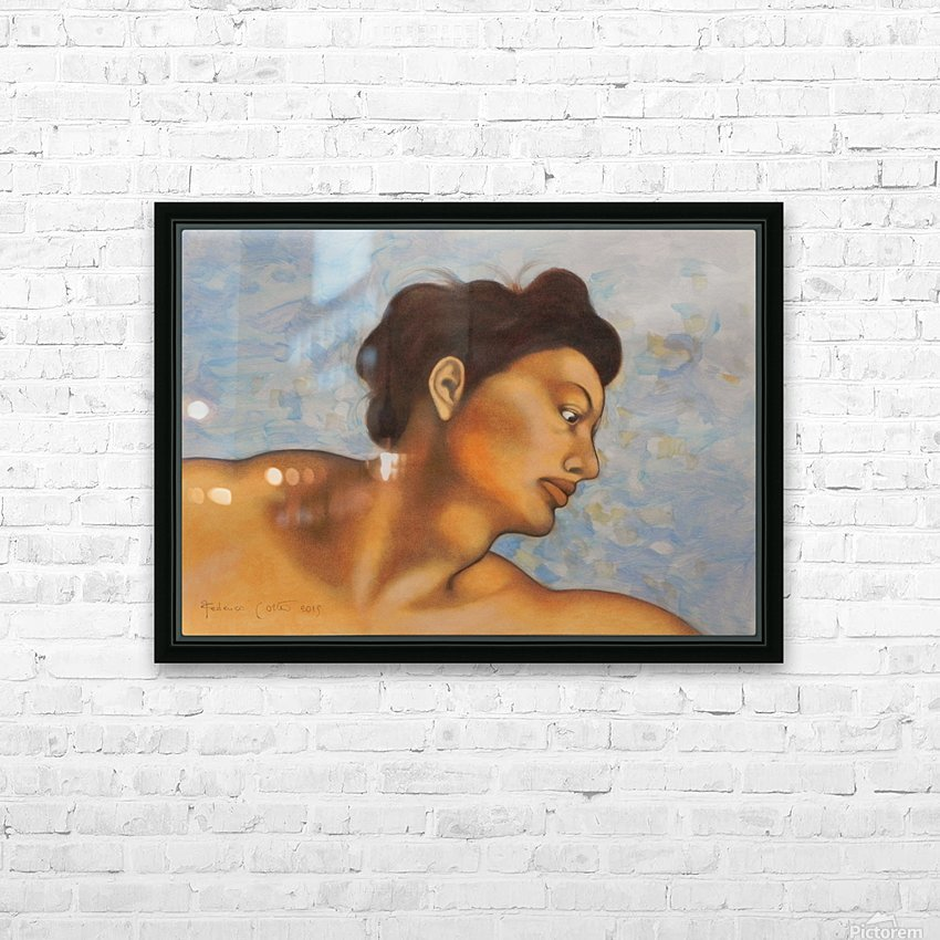 Sistine mood  HD Sublimation Metal print with Decorating Float Frame (BOX)