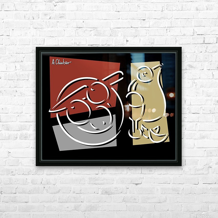 Still Life 1 HD Sublimation Metal print with Decorating Float Frame (BOX)