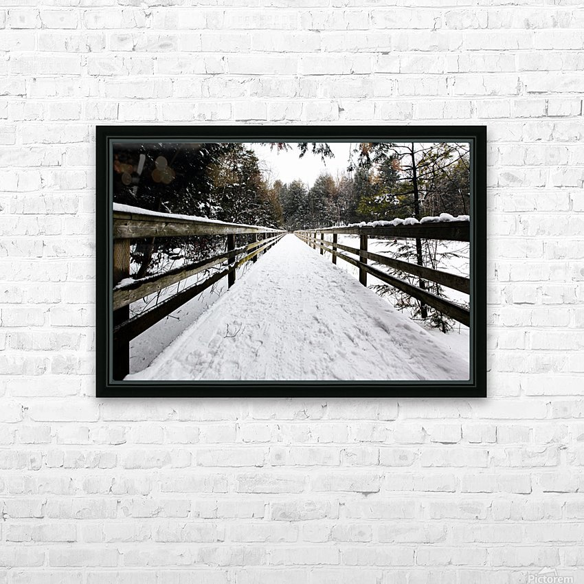 The Boardwalk HD Sublimation Metal print with Decorating Float Frame (BOX)