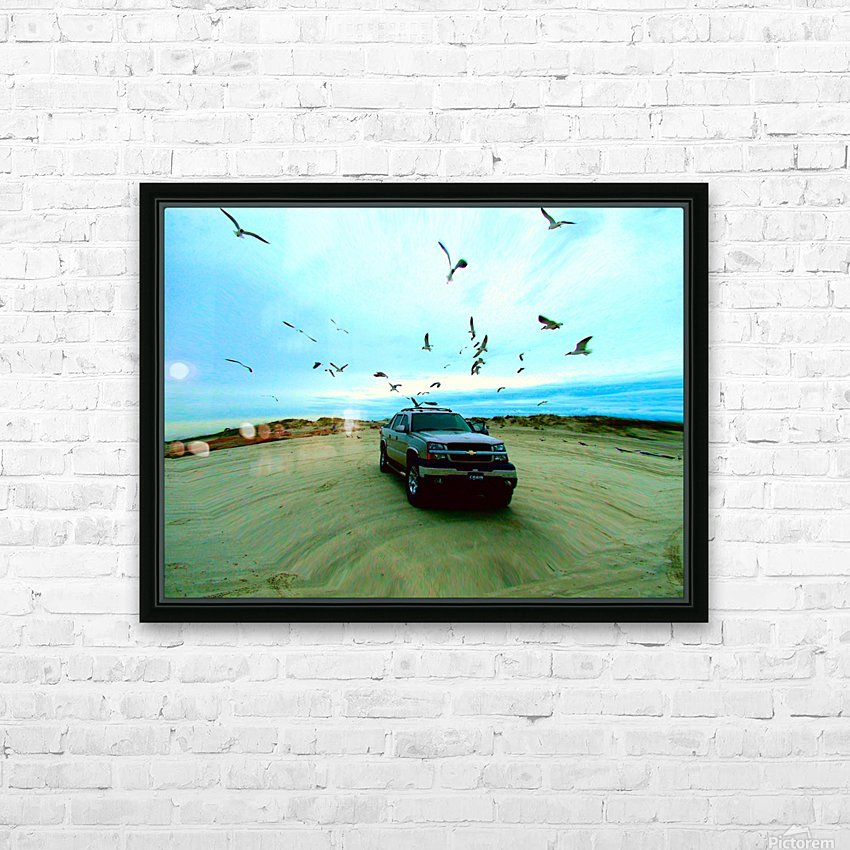 DSCF2094 HD Sublimation Metal print with Decorating Float Frame (BOX)