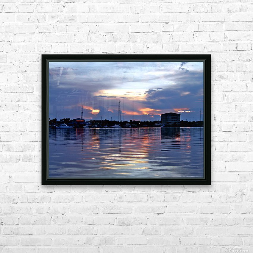 P8110112 HD Sublimation Metal print with Decorating Float Frame (BOX)
