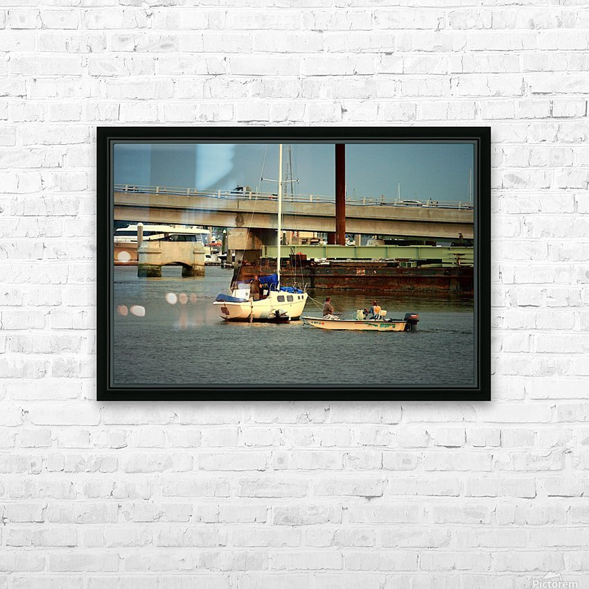 Picture079 HD Sublimation Metal print with Decorating Float Frame (BOX)