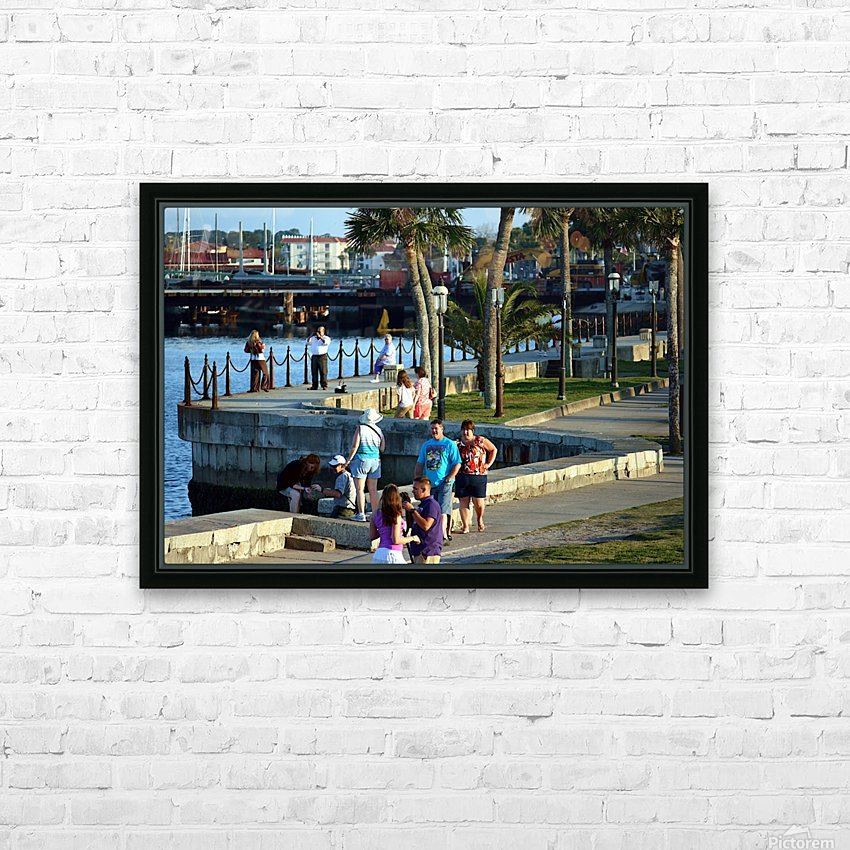 Walmart1731 HD Sublimation Metal print with Decorating Float Frame (BOX)