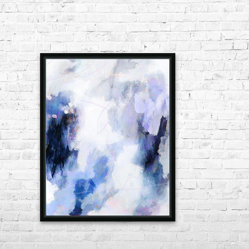 Lavender Cloud HD sublimation métal imprimé avec décoration flotteur cadre (boîte)