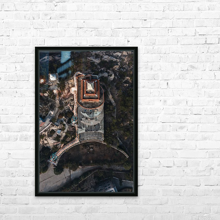 Abandoned Dragon Hotel HD Sublimation Metal print with Decorating Float Frame (BOX)