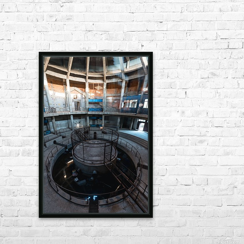 Abandoned Dog Fighting Arena HD Sublimation Metal print with Decorating Float Frame (BOX)