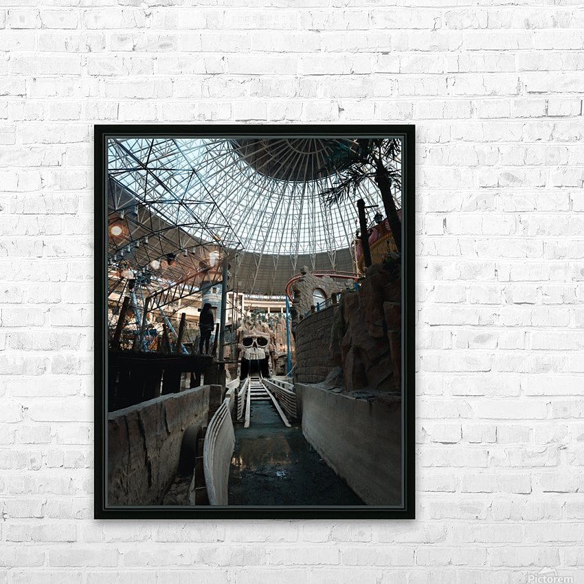 Abandoned Indiana Jones Theme Park HD Sublimation Metal print with Decorating Float Frame (BOX)
