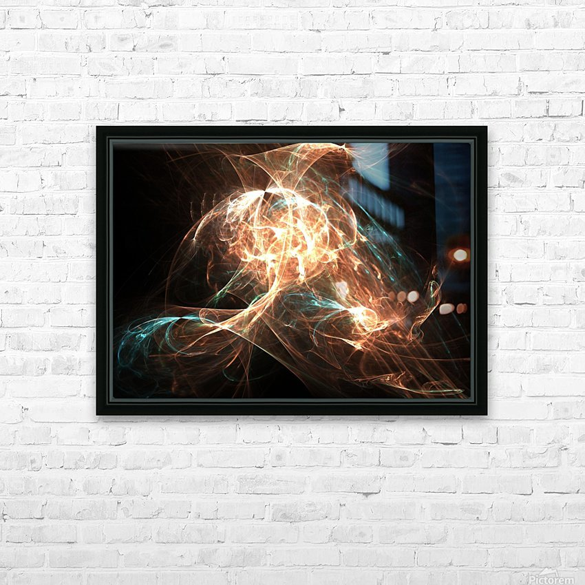 Philosopher HD Sublimation Metal print with Decorating Float Frame (BOX)