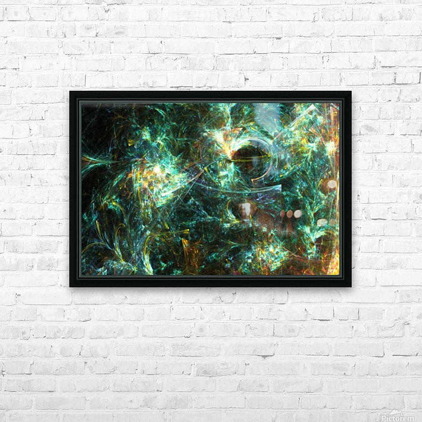 Getting back from Amnesia HD Sublimation Metal print with Decorating Float Frame (BOX)