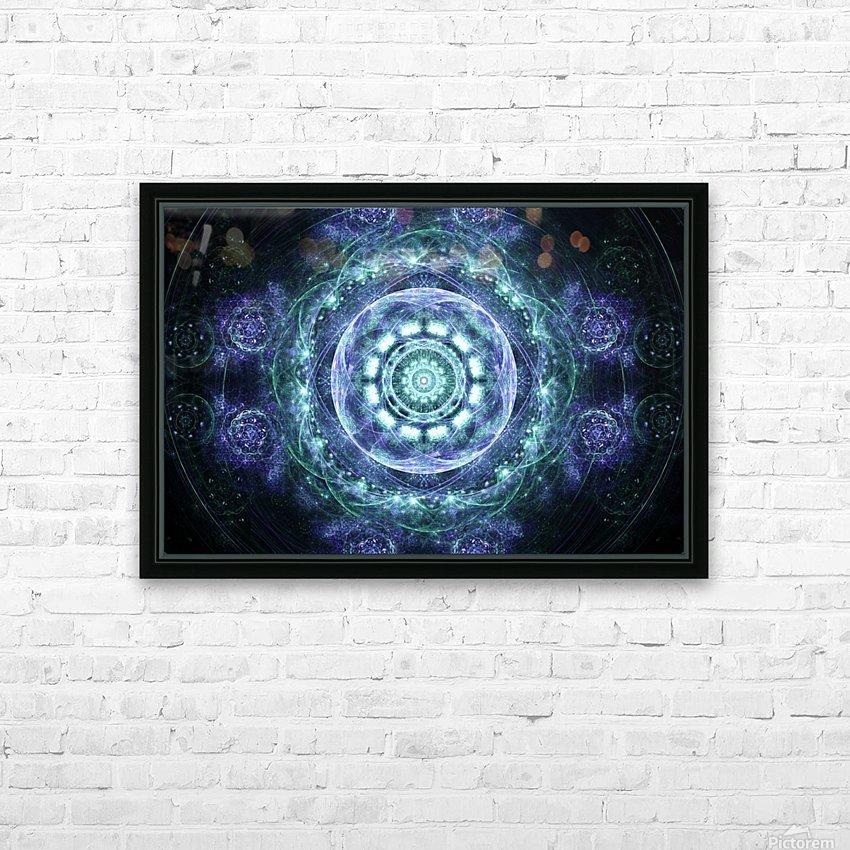 Morning awakening HD Sublimation Metal print with Decorating Float Frame (BOX)