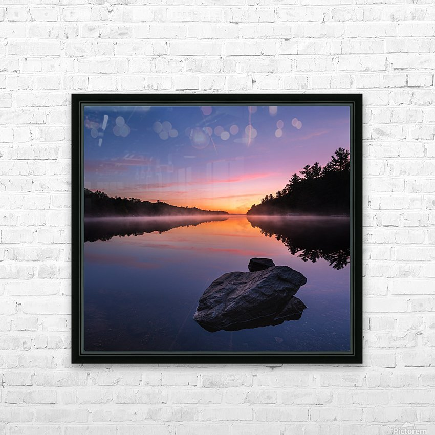 Magenta Magic HD Sublimation Metal print with Decorating Float Frame (BOX)