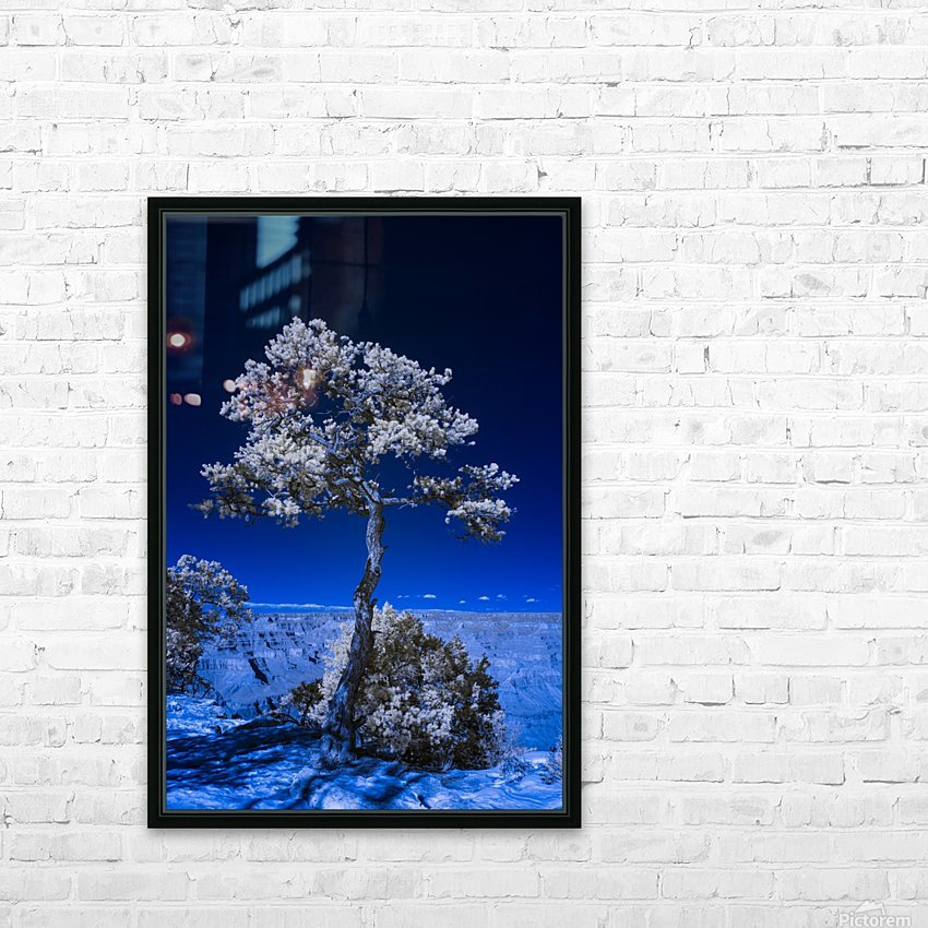 Tree of life 3 HD Sublimation Metal print with Decorating Float Frame (BOX)