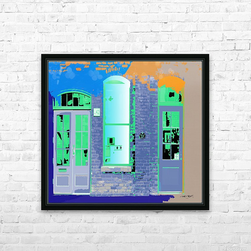 STORE FRONT by dePace HD Sublimation Metal print with Decorating Float Frame (BOX)