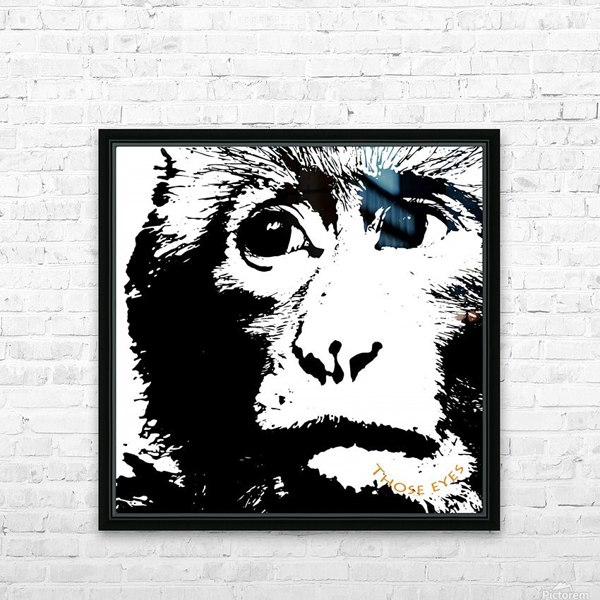 Those Eyes by dePace HD Sublimation Metal print with Decorating Float Frame (BOX)