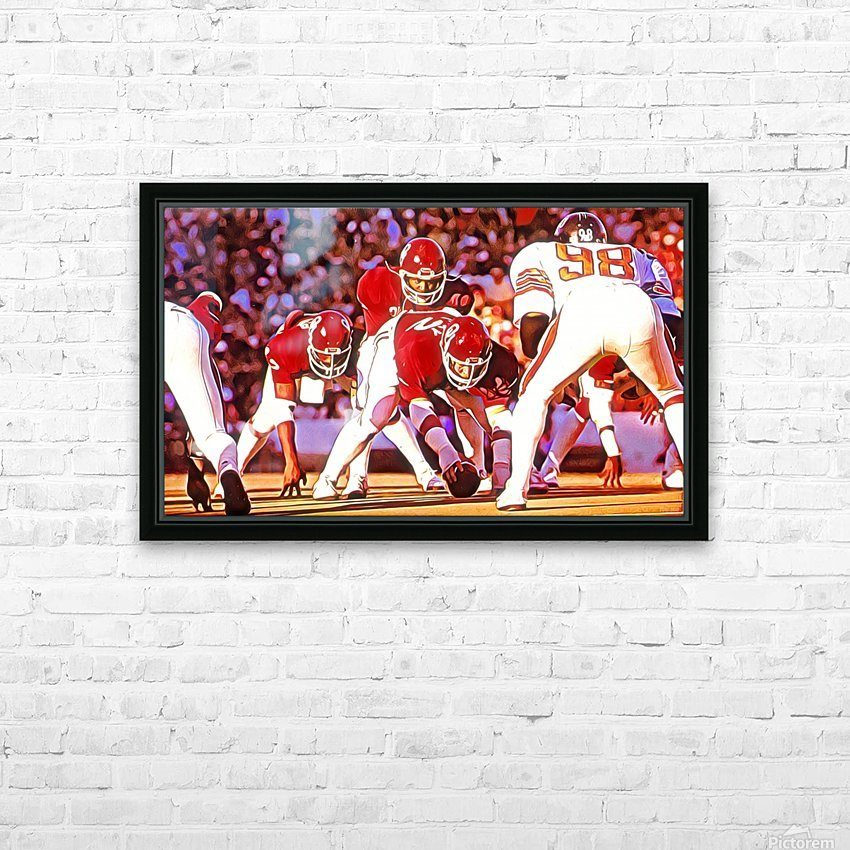 1981 Bedlam Action HD Sublimation Metal print with Decorating Float Frame (BOX)
