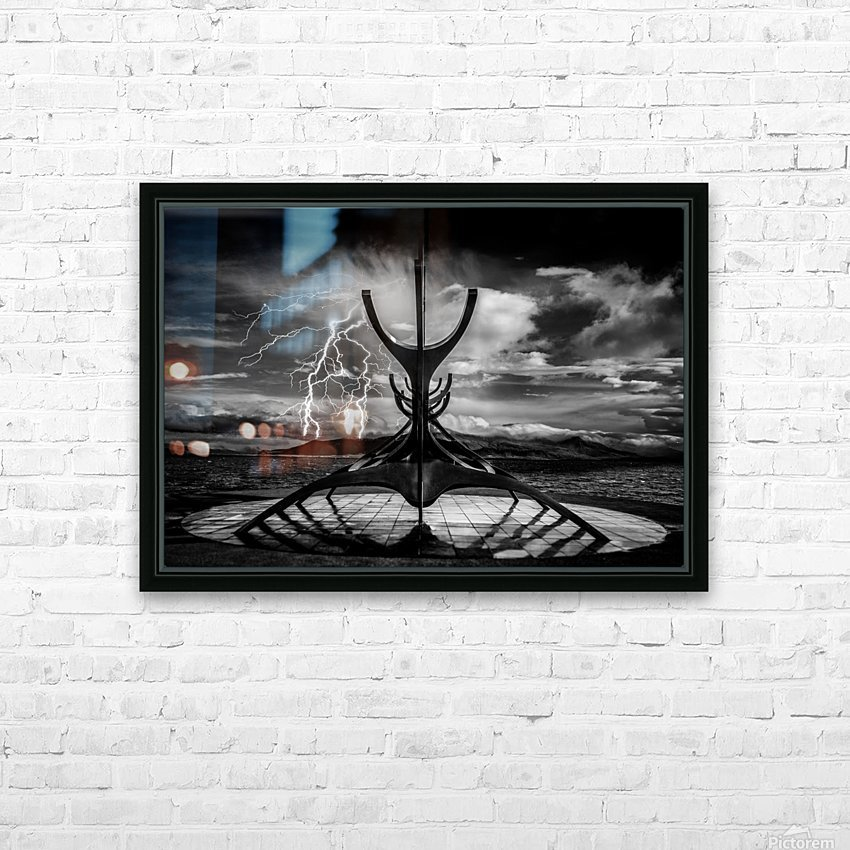 Hammer Of The Gods HD Sublimation Metal print with Decorating Float Frame (BOX)