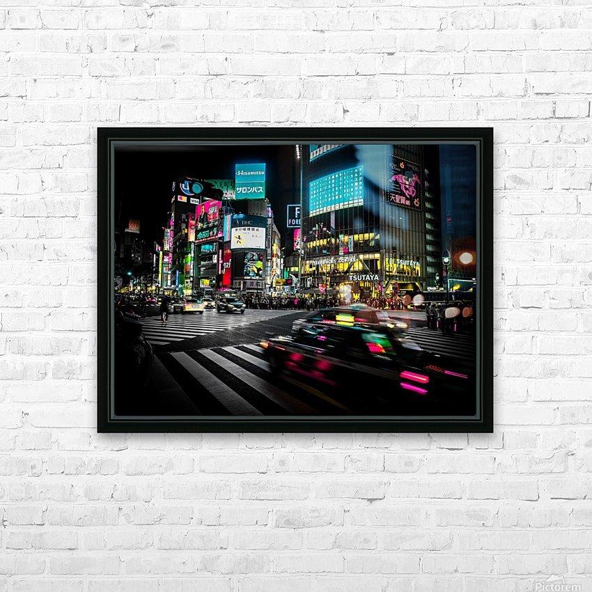 Shibuya Shuffle HD Sublimation Metal print with Decorating Float Frame (BOX)