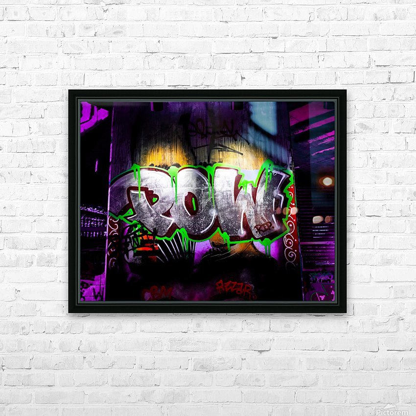 POW HD Sublimation Metal print with Decorating Float Frame (BOX)