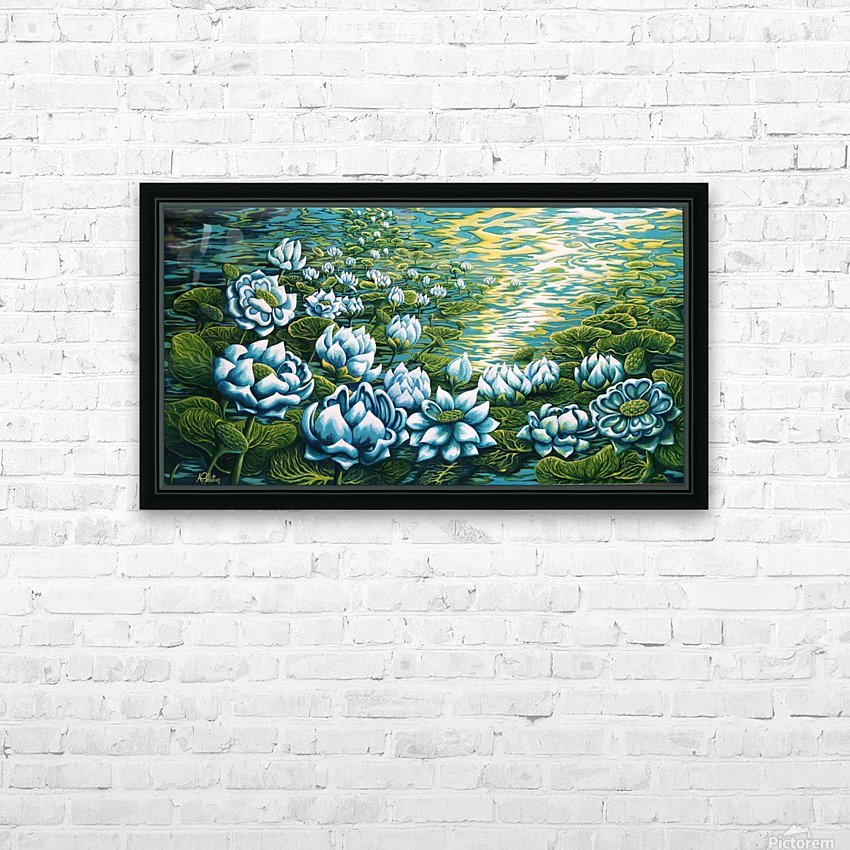 Dreaming HD Sublimation Metal print with Decorating Float Frame (BOX)