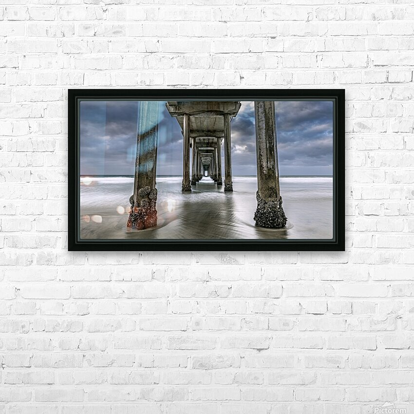 The Gate to the Storm HD Sublimation Metal print with Decorating Float Frame (BOX)