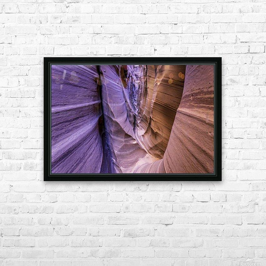 Sandrock Baguette HD Sublimation Metal print with Decorating Float Frame (BOX)