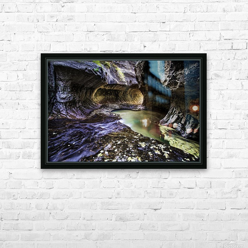 Mind the Gap HD Sublimation Metal print with Decorating Float Frame (BOX)