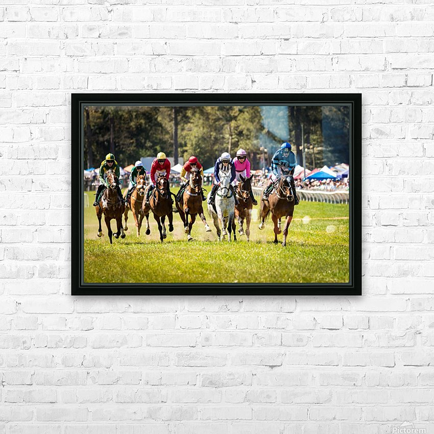 Aiken Steeplechase 4998 HD Sublimation Metal print with Decorating Float Frame (BOX)