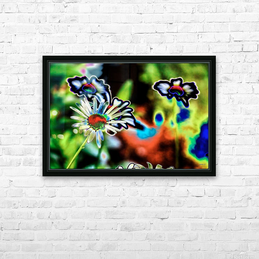 Petales- Collection EXC-S HD Sublimation Metal print with Decorating Float Frame (BOX)