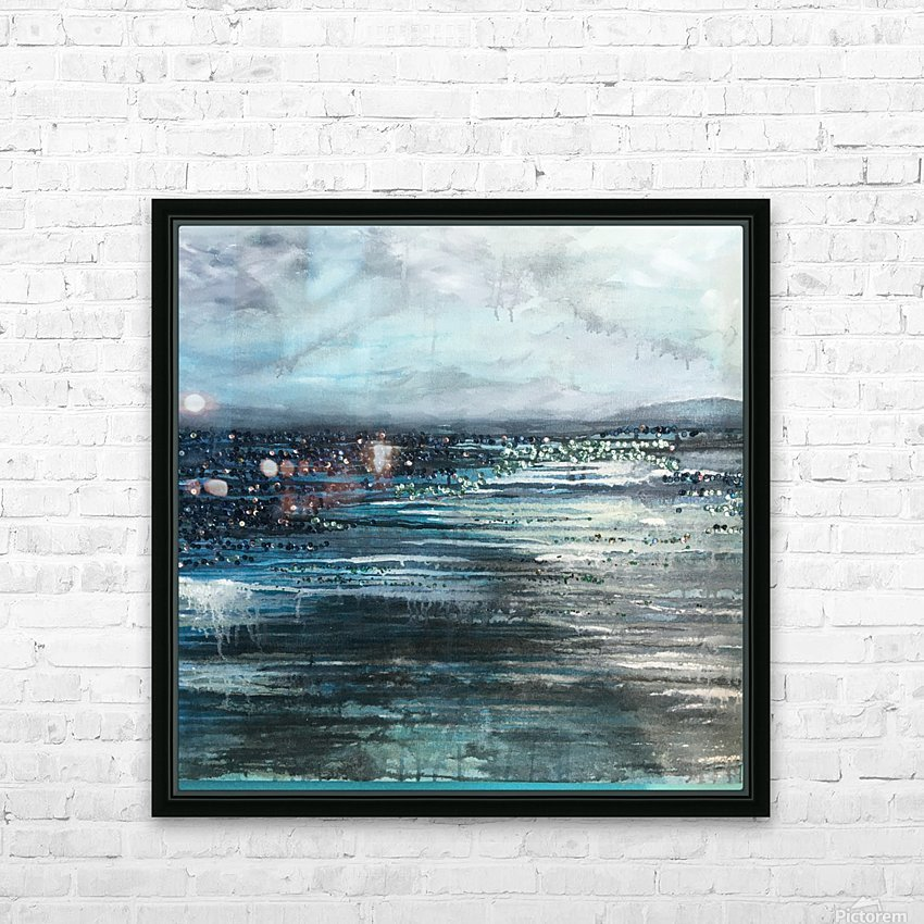 Before the Storm V HD Sublimation Metal print with Decorating Float Frame (BOX)