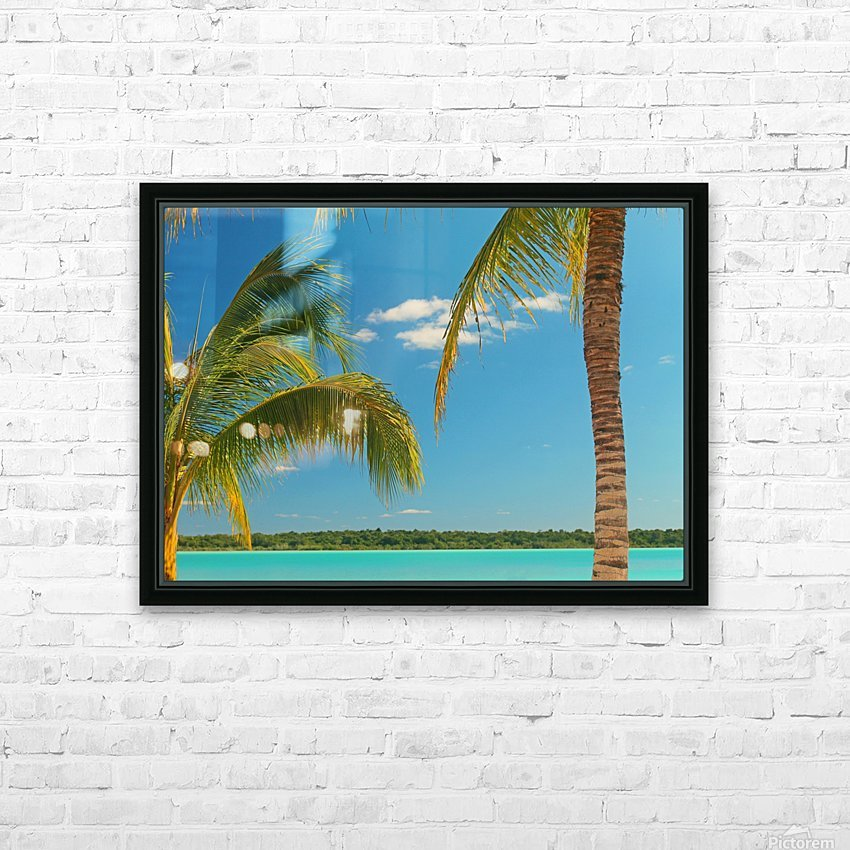 At Peace HD Sublimation Metal print with Decorating Float Frame (BOX)
