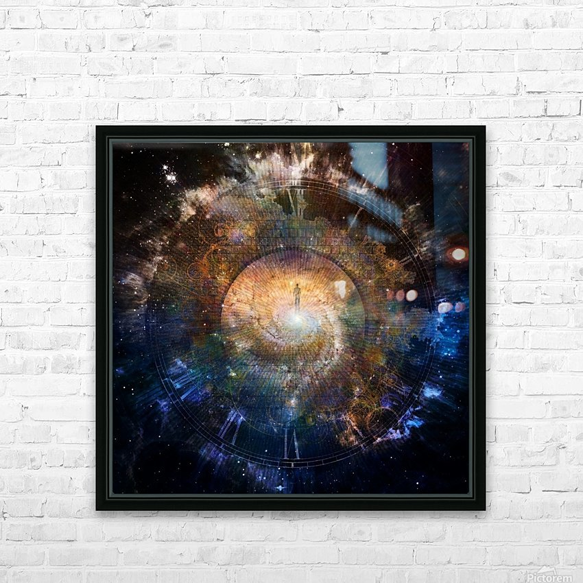 The Path to Eternity HD Sublimation Metal print with Decorating Float Frame (BOX)
