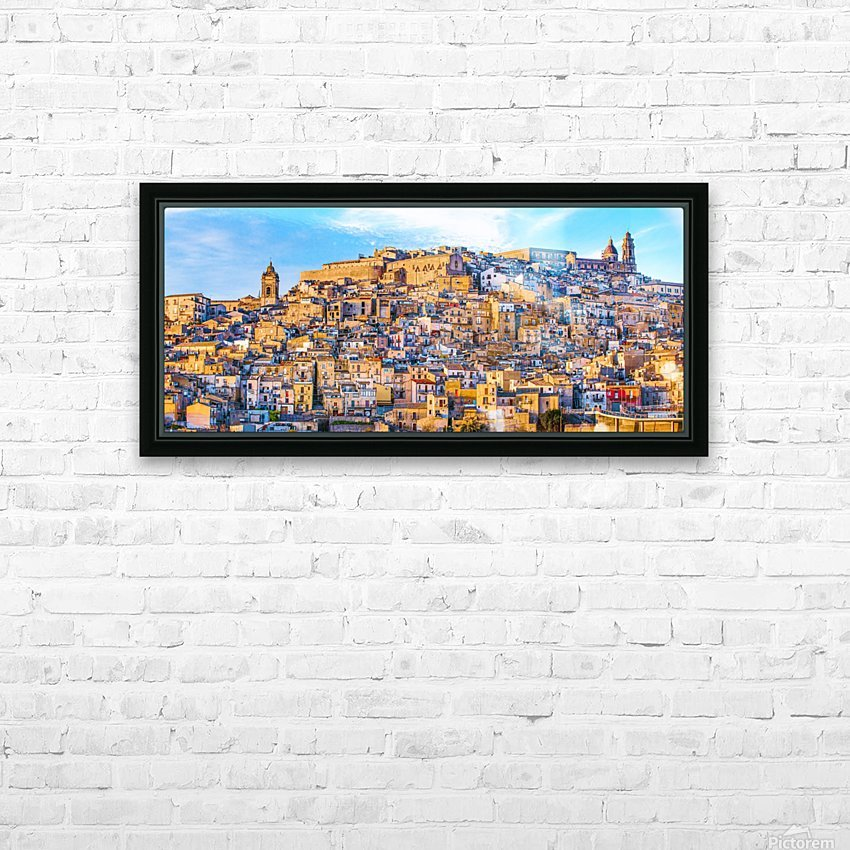 Caltagirone CT HD Sublimation Metal print with Decorating Float Frame (BOX)
