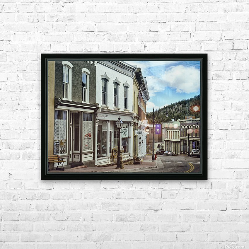 Old Town America HD Sublimation Metal print with Decorating Float Frame (BOX)