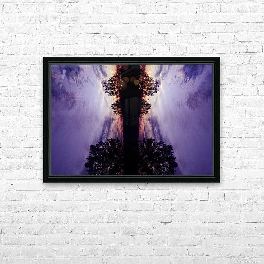 Cloudes 82 HD Sublimation Metal print with Decorating Float Frame (BOX)