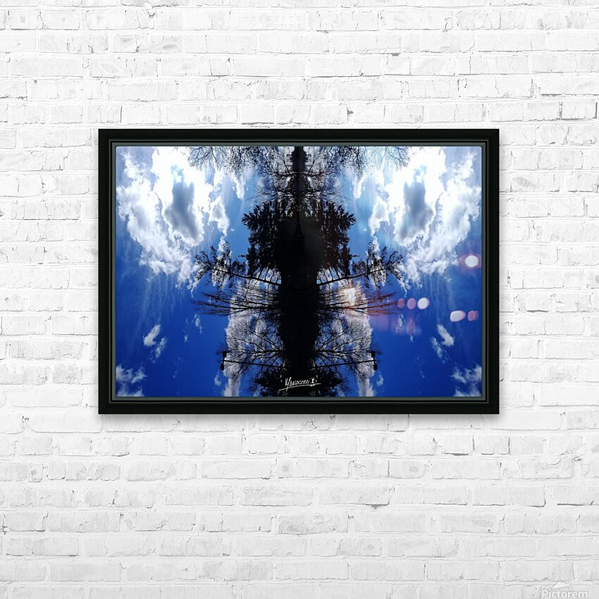 Cloudes 87 HD Sublimation Metal print with Decorating Float Frame (BOX)